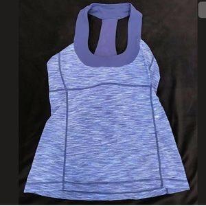 Lululemon Tank Top Size 8 Purple Racerback